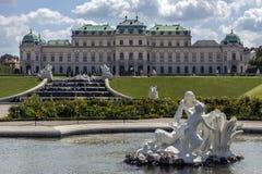 Upper Belvedere Palace - Vienna - Austria Stock Images