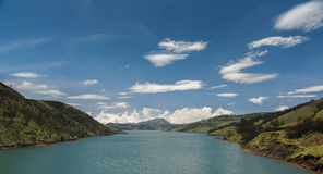 Upper Bhavani reservoir, Nilgiris Stock Image