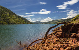 Upper Bhavani reservoir, Nilgiris Royalty Free Stock Photography