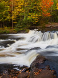 Upper Bond Falls Autumn Royalty Free Stock Photography