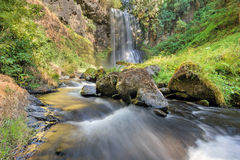 Upper Bridal Veil Falls in Summer Stock Images