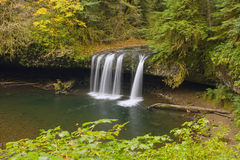 Upper Butte Creek Falls Oregon 2 Stock Images