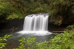 Upper Butte Creek Falls. Oregon Royalty Free Stock Images