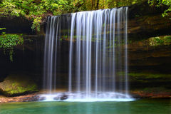 Upper Caney Creek Falls. In the William B Bankhead National Forest of Alabama Royalty Free Stock Photos