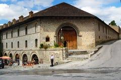 Upper caravanserai in Sheki. Azerbaijan royalty free stock images