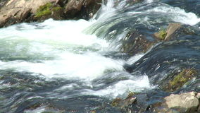 The upper cascade Escondida in  Argentina. The upper cascade Escondida in  Patagonia, Argentina stock video