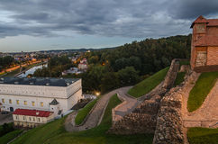 Upper Castle and Old Arsenal in Vilnius, Lithuania Royalty Free Stock Photos
