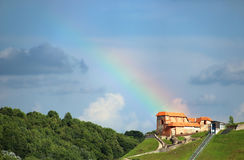 Upper Castle in Vilnius, Lithuania Stock Photography