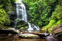 Upper Catabwa Falls stock image