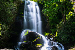 Upper Catabwa Falls Stock Photography