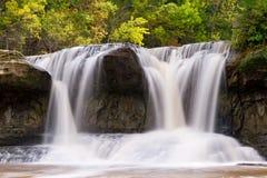 Upper Cataract Falls, Indiana Royalty Free Stock Photos