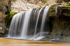 Upper Cataract Falls, Indiana Stock Images
