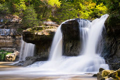 Upper Cataract Falls, Indiana Stock Image