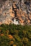 Upper church of Ostrog Monastery, Montenegro Stock Photos