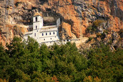 Upper church of Ostrog Monastery, Montenegro Royalty Free Stock Image