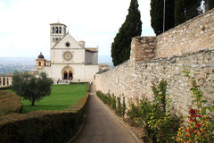 Upper Church of San Francesco, Assisi, Umbria Royalty Free Stock Photography