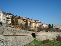 Upper city (Bergamo) Royalty Free Stock Image