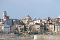 Upper city Bergamo Stock Photo