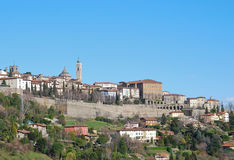 Upper city Bergamo Royalty Free Stock Images
