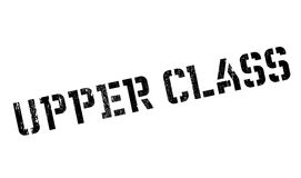 Upper Class rubber stamp Royalty Free Stock Image