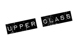Upper Class rubber stamp Royalty Free Stock Photo