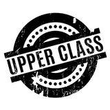 Upper Class rubber stamp Stock Photography