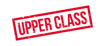 Upper Class rubber stamp Stock Image