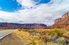 On the Upper Colorado River Scenic Byway State Route 128,Utah Stock Images