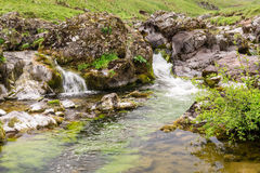 Upper Coquetdale waterfalls Royalty Free Stock Photo