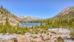Upper Cramer Lake, Sawtooth National Recreation Area, ID Royalty Free Stock Image