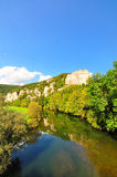 Upper Danube Valley Royalty Free Stock Photos