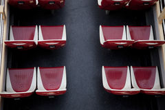 Upper deck double decker bus Royalty Free Stock Image