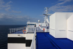 Upper Deck on Ferry Royalty Free Stock Images