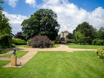 UPPER DICKER, EAST SUSSEX/ UK - JUNE 26: Exterior View of Michel Royalty Free Stock Photography