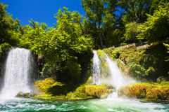 Upper Duden Falls Royalty Free Stock Images
