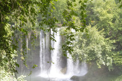 Upper Duden waterfalls in Antalya Royalty Free Stock Images
