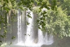 Upper Duden waterfalls in Antalya Royalty Free Stock Photography