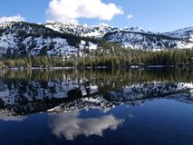 Upper Echo Lake Royalty Free Stock Photography