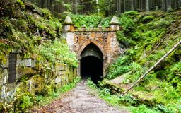 Free Upper Entrance To Tunnel Of Historical Schwarzenberg Shipping Canal, Sumava Mountains, Czech Republic Royalty Free Stock Images - 100984899