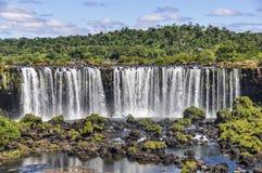 Upper fall at Iguazu Falls,  Brazil Royalty Free Stock Photos