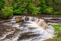 Upper Falls at Aysgarth Royalty Free Stock Image