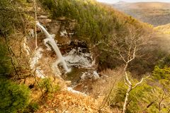 Upper Falls of the Kaaterskill Falls stock photos