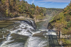 Upper Falls At Letchworth State Park Stock Images