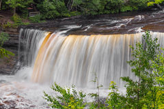 Upper Falls of the Tahquamenon Stock Photography