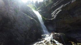 Upper Falls Utah - Hike stock video