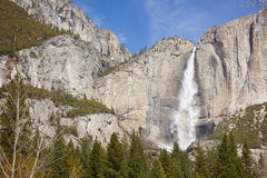 Upper Falls at Yosemite Stock Photography