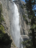 Upper Falls, Yosemite Royalty Free Stock Image