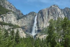 Upper falls in Yosemite national Park Stock Image