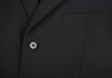 Upper fragment of a business man suit Royalty Free Stock Photography