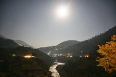 Free Upper Gang And Rudraprayag Nightscape Royalty Free Stock Photo - 218408935